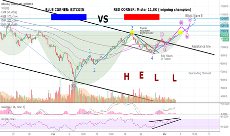 BTCUSD: NEXT UP: BITCOIN In Major Fight Against Reigning Champion! SIGH.