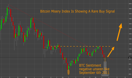 BTCUSD: Bitcoin Misery Index Is Showing A Rare Buy Signal