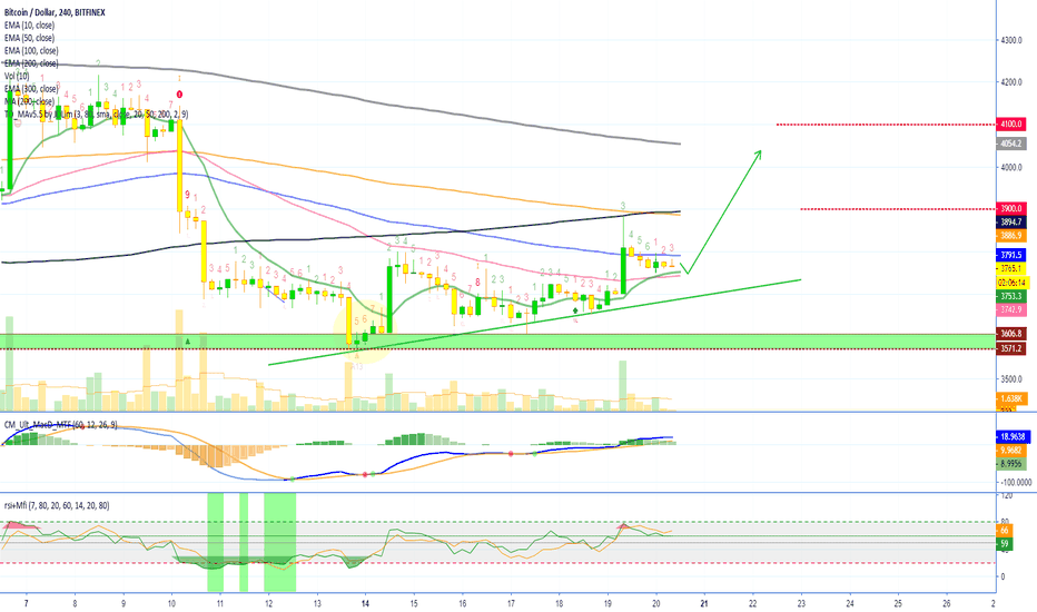 BTCUSD: Bitcoin Prepares To Move (Price Action 20-Jan)