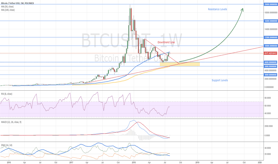 BTCUSDT: Bitcoin Weekly Chart - What's New