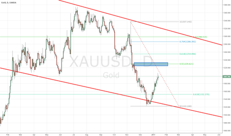 XAUUSD: gold positional trade setup
