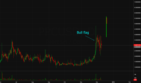 PPCUSD: PPC/USD bull flag.