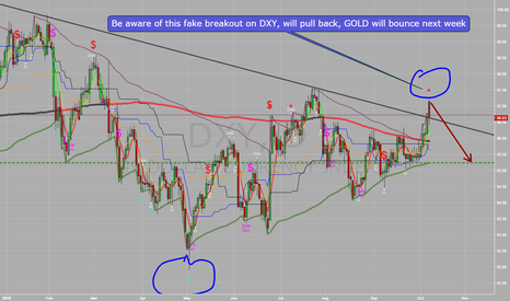 DXY: U.S. Dollar will pullback from the fake breakout