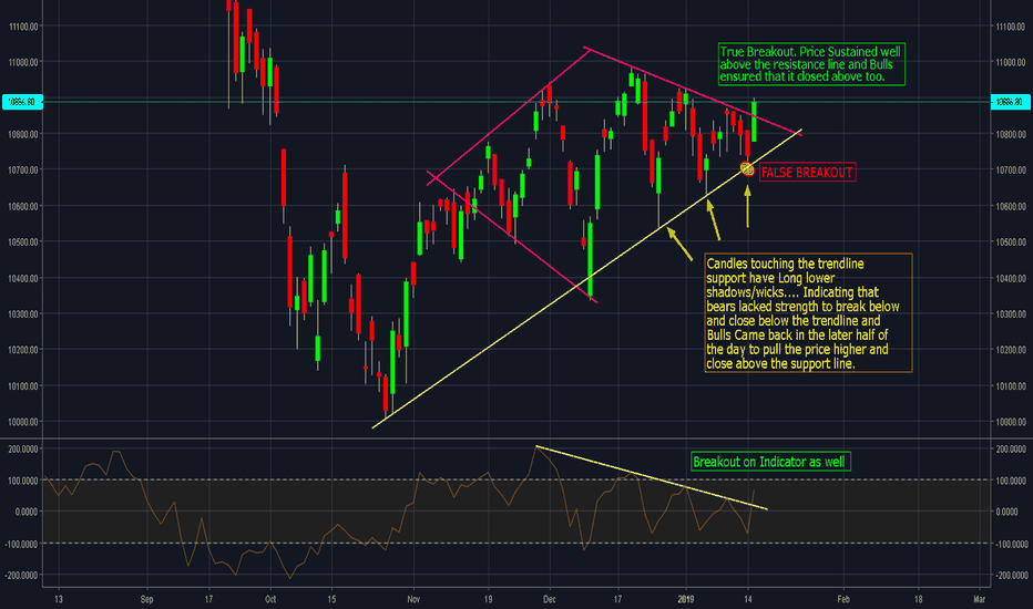 NIFTY: False Breakout, Bears Trapped..! Now 11000 Coming..!!
