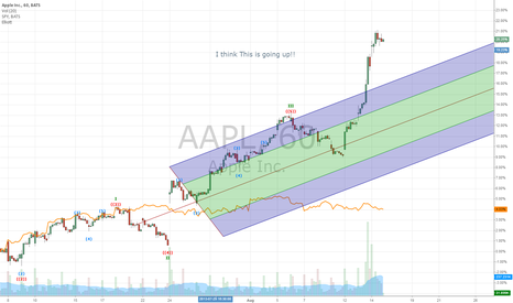 AAPL: Apple is going UP!