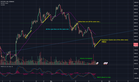 BTCUSD: BTC The newbie study of it's patterns. Will it honor the past?