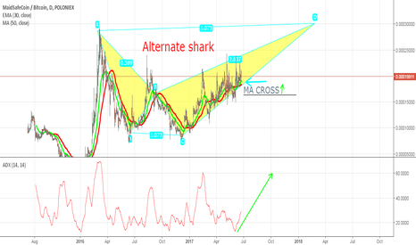 MAIDBTC: MAID Alternate shark chart