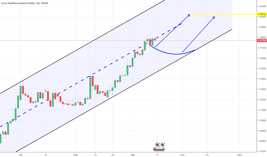 EURNZD: 1D Channel Up. Long.