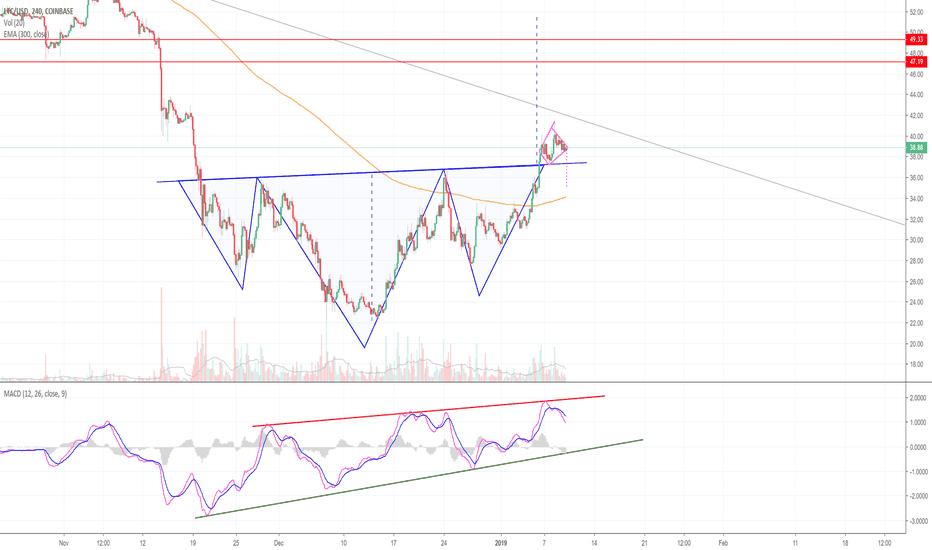 LTCUSD: It's Time To Exercise Caution, in Litecoin! (LTC)