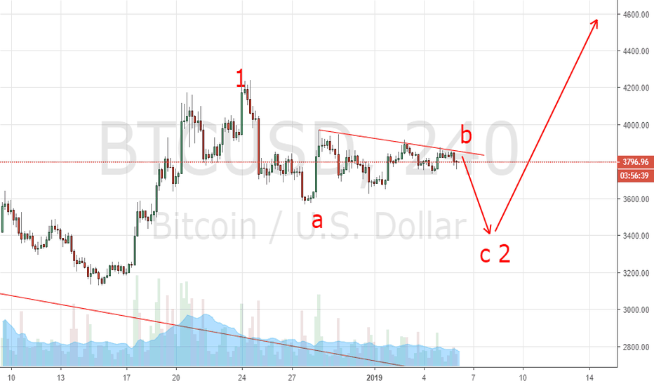 BTCUSD: btc wave down is coming