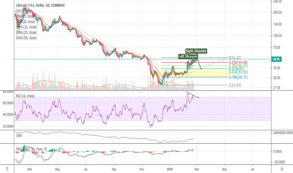 LTCUSD: The opportunity to short LTCUSD has finally come