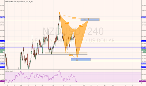 NZDUSD: NZDUSD long then short