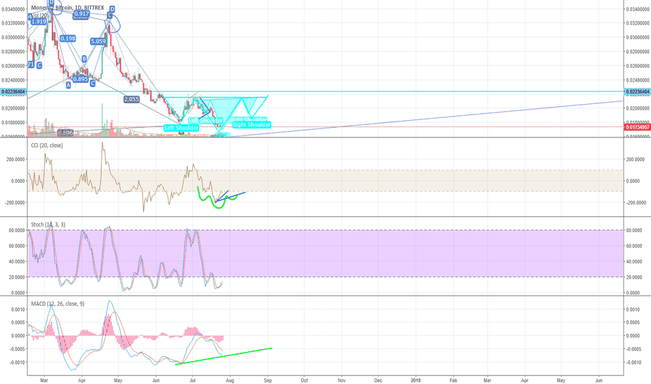 XMRBTC: Wait for the bullish divergence