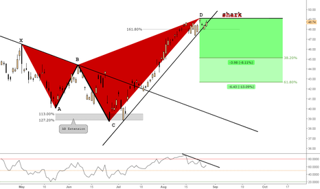 RACE: (Daily) Bearish Shark @49$