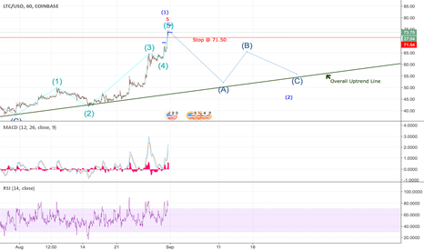 LTCUSD: Correction Soon