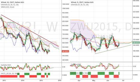 ZWU2015: Wheat - Will it go higher on short covering?