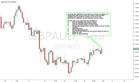 GBPAUD: GBPAUD - BULLISH Strategy