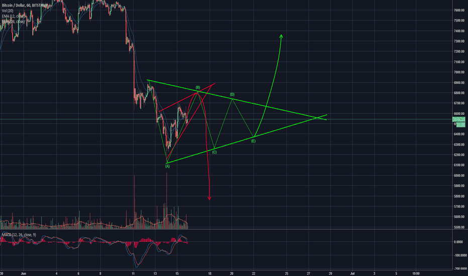 BTCUSD: BTC Price Projection