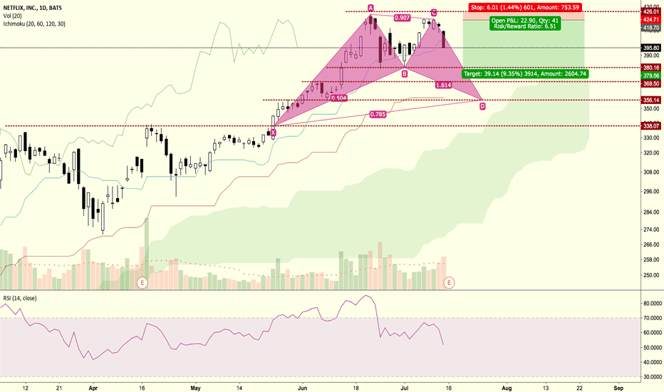 NFLX: Netflix Correction by Price Action
