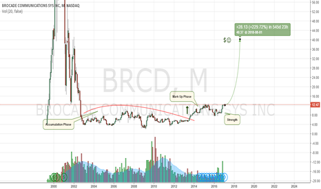 BRCD: Brocade, Another Small Time Stock Looking To Go Big