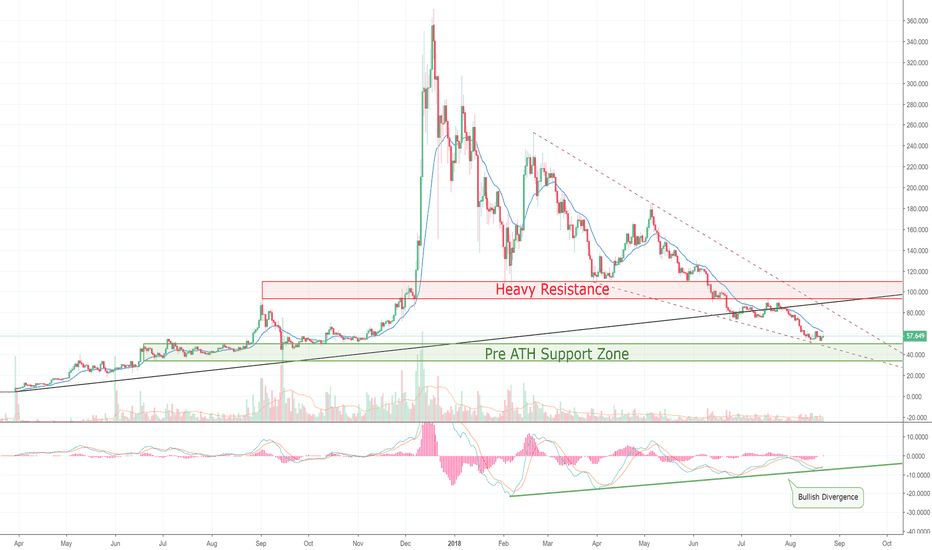 LTCUSD: Litecoin Hit My $50 Target, But Could Be Geared To Rally! >=D