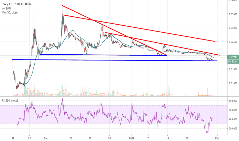 BSVXBT: BSV could give a good entry point very soon