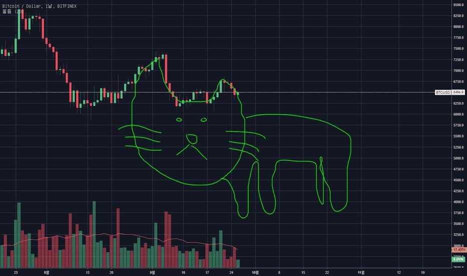 BTCUSD: 차트에서 고양이가 보입니다. 도망가세요!