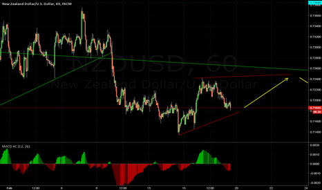 NZDUSD: CORRECTION STRUCTURE BEFORE THE DROP