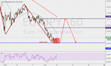 EURJPY: Double bottom at a major SnR level