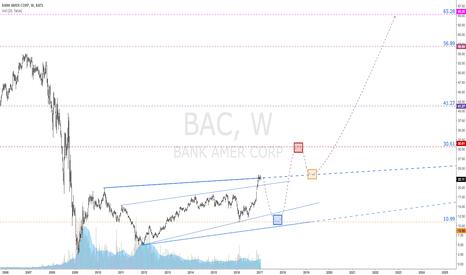 BAC: Bank Of America   Multi Year Outlook