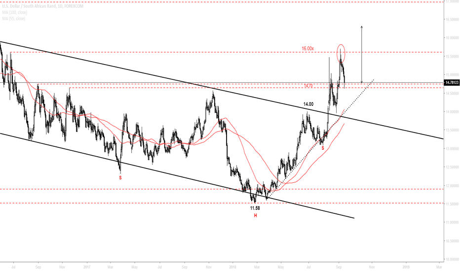 USDZAR: Pain likely to continue - Chapter II