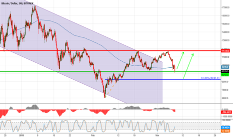 BTCUSD: BTCUSD at critical Level