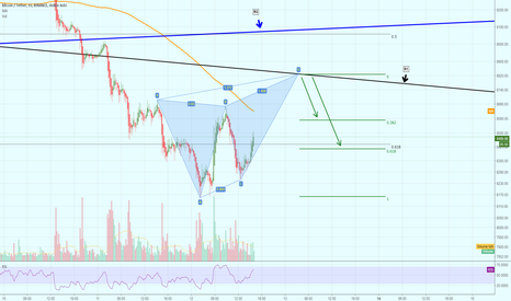 BTCUSDT: Another potential Butterfly Advanced Harmonic on Bitcoin