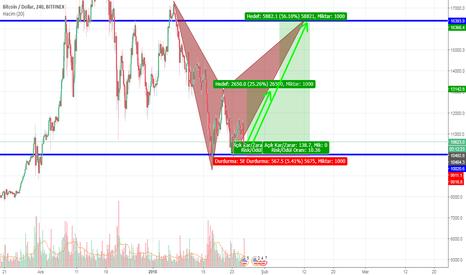 BTCUSD: BTC/USD Bearish Bat Pattern