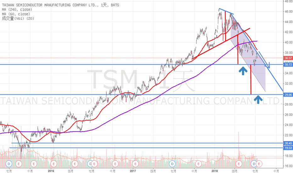 TSM: 台積電-日線
