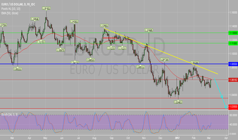 EURUSD: EUR/USD Daily Chart : Under Pressure.