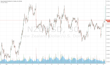NZDUSD: Long NZD/USD for a few weeks.