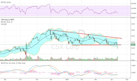 CSX: Had a whoops moment on NSC pre-announce, but recovered