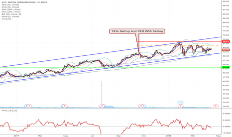 AOS: AOS - H&S formation short from $$66.16 to $53.35