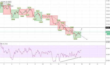 USDJPY: USD JPY: Divergence with RSI for a run to 107?