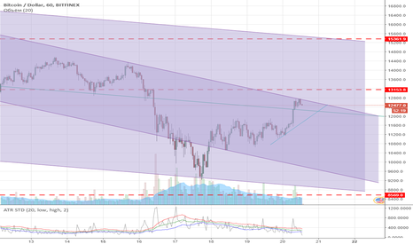 BTCUSD: USD\BTC Maybe Up Tick