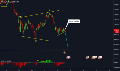 BTCUSD: BTCUSD - ANOTHER DROP ON THE WAY? LOOKS LIKE IT!