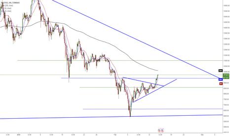 BTCUSD: BTC/USD - Continued Bullish Momentum on 4HR