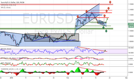 EURUSD: Analysis and forecasts for EUR / USD 02/18/16