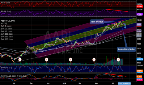AAPL: AAPL coming down with market but still safe LT value