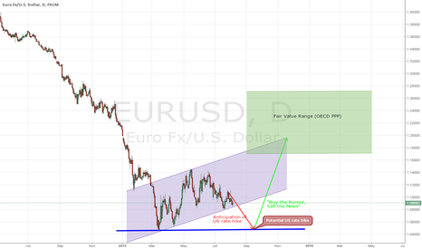 EURUSD: EUR Scenario for a September Rate Hike by the FED