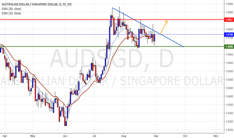 AUDSGD: One more triangle in the aussie