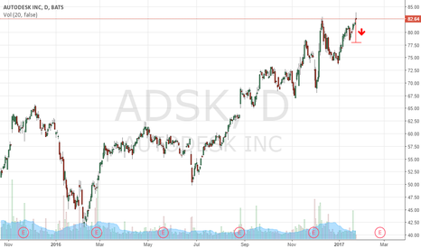 ADSK: Action Alert: Significant Topping Signal Appears On $ADSK