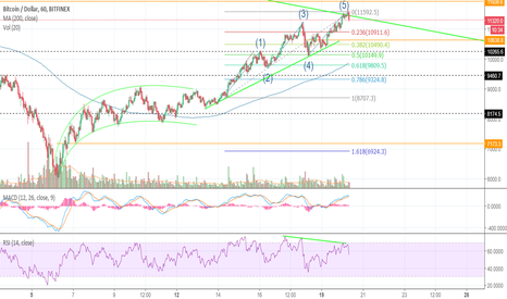 BTCUSD: Divergence ready for drop