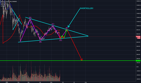 BTCUSDT: Bearish speculation about  BTC to 1500 dollars